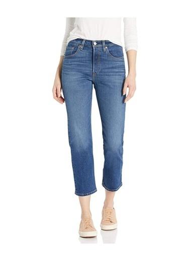 Levi's® 362000108 501 Crop Charleston High Kısa Paça Regular Kadın Jean Pantalon İndigo